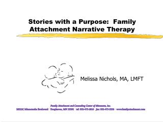 Stories with a Purpose:  Family Attachment Narrative Therapy