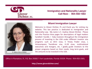 Miami Immigration Lawyer