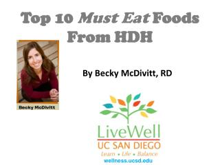 top 10 must eat foods from hdh