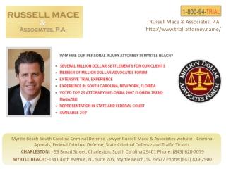 South Carolina Personal Injury Attorneys