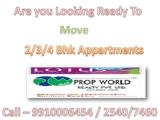 Lotus Boulevard 3c Lotus Boulevard Noida 9910006454 Lotus Bo