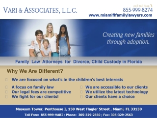 Lawyers for Child Support in Miami