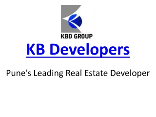 KBD Group / KB Developers - An Introduction