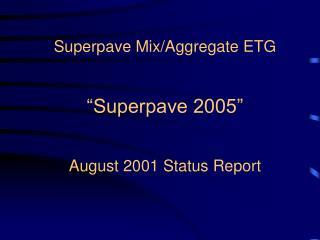 Superpave 2005