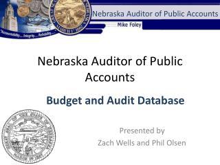 Nebraska Auditor of Public Accounts