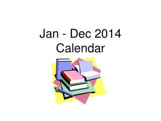 July - December 2011  Calendar