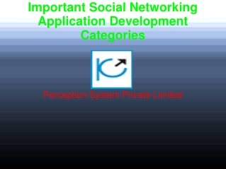 Important Social Networking Application Development