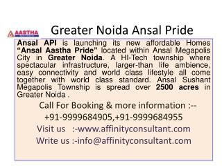 Greater Noida Ansal Pride
