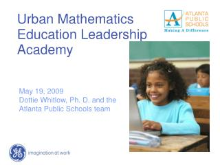 Urban Mathematics Education Leadership Academy