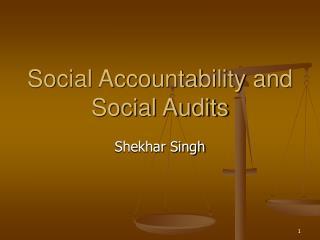 Social Accountability and Social Audits