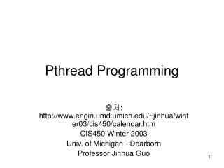 Pthread Programming