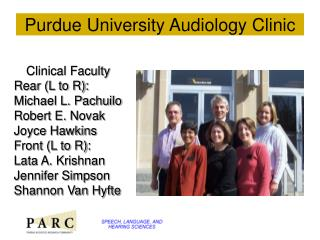 Purdue University Audiology Clinic