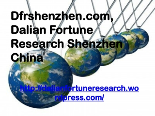 Dfrshenzhen.com, Dalian Fortune Research Shenzhen China