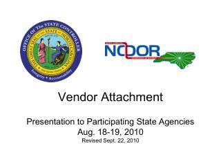 Vendor Attachment