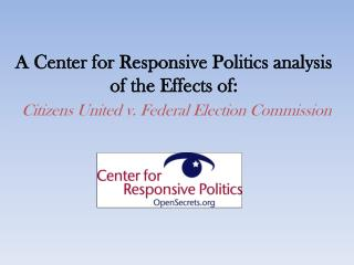 effects of citizens united v. federal election commission