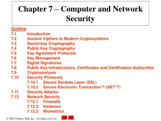 Chapter 7   Computer and Network Security
