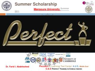 Summer Scholarship Mansoura University