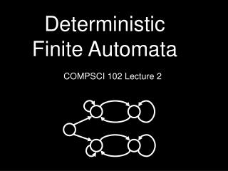 Deterministic Finite Automata