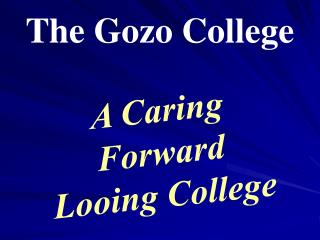 The Gozo College
