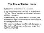 The Rise of Radical Islam