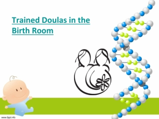 Trained Doulas in the Birth Room