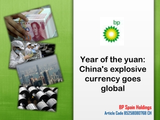 Year of the yuan: China's explosive currency goes global