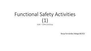 IEC 61508   IEC 61511 Presentation