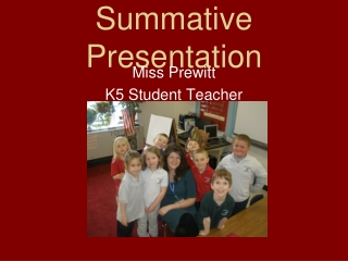 Summative Presentation