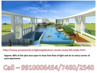 TGB Meghdutam TGB Meghdutam Resale 9910006454 Ready to Move