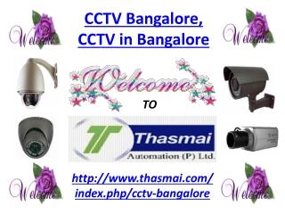 CCTV Bangalore, CCTV in Bangalore,