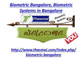 Biometric Bangalore, Biometric System Bangalore