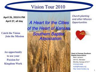 Vision Tour 2010