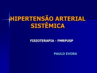 HAS - Paulo Evora