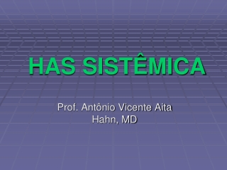 HAS Dr. Antonio Vicente