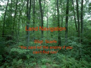 Land Navigation
