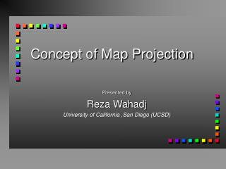 Concept of Map Projection