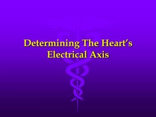 Determining The Heart s Electrical Axis