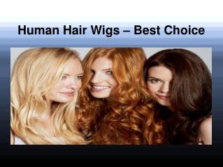 Human Hair Wigs - Best Choice