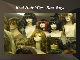 Real Hair Wigs- Best Wigs