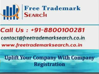 Uplift Your Company With Company Registration