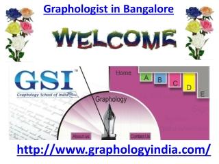 Graphologist in Bangalore