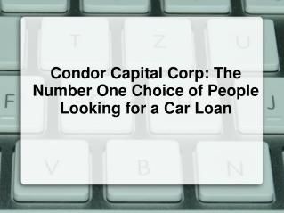 Condor Capital Corp