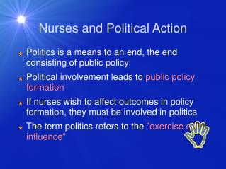 Nurses and Political Action