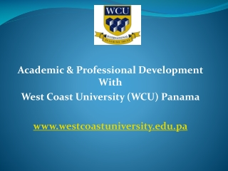 West Coast University Panama