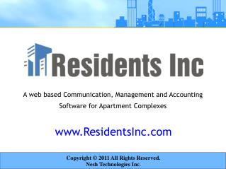 residents inc - management features