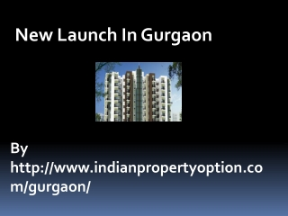 New Launch In Gurgaon Call 9650268727