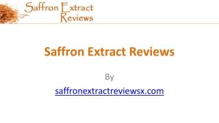 Saffron Extract Reviews Saffron Extract