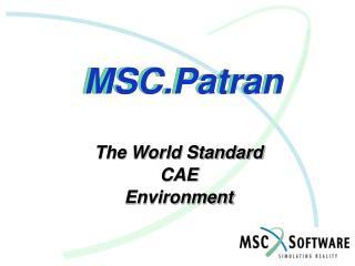 MSC.Patran