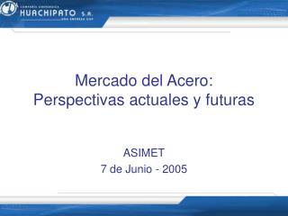 Mercado del Acero: Perspectivas actuales y futuras