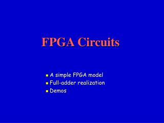 FPGA Circuits